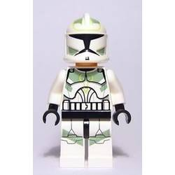 Clone Trooper with Sand Green Decoration