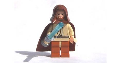 Obi Wan Kenobi With Light Up Lightsaber Lego Star Wars Minifigs