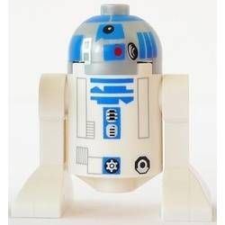 R2-D2 with Pearl Light Gray Head