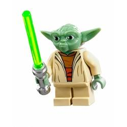 Yoda with White Hair