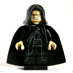 Emperor Palpatine as Darth Sidious with Tan head and hands