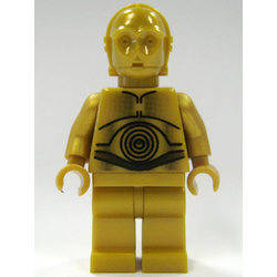 C-3PO Pearl Gold with Pearl Gold Hands
