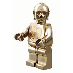 Gold chrome plated C-3PO