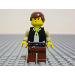Han Solo with Brown Legs with Holster