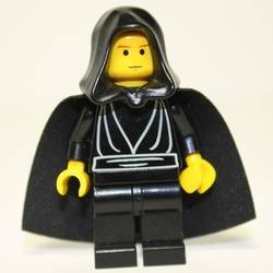 Luke Skywalker with Black Hood and Black Cape