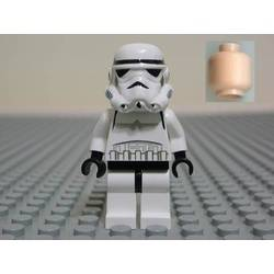 Stormtrooper with Flesh Head
