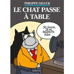 Le chat passe à table
