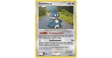 Goinfrex carte pok mon 33 130 pok mon s rie diamant et perle - Pokemon rare diamant ...