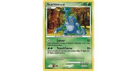 Scarhino carte 28 130 pok mon s rie diamant et perle - Pokemon rare diamant ...