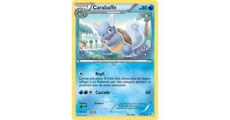 Carabaffe - carte Pokémon 30/149 Frontières Franchies