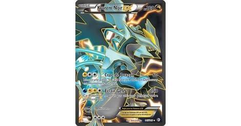 Kyurem noir ex carte 145 149 fronti res franchies - Carte pokemon kyurem blanc ex ...