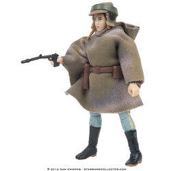 Princess Leia Organa (in combat poncho)