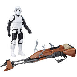 Speeder Bike & Biker Scout (12 inches)