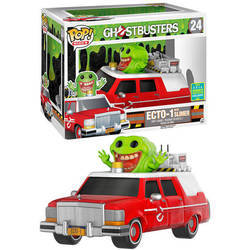 Ghostbusters - Ecto 1 With Slimer