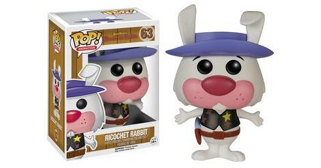 Hanna Barbera Ricochet Rabbit Figurine 063 Pop Animation