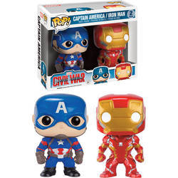 Civil War - Captain America And Iron Man 2 Pack