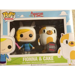 Adventure Time - Fionna & Cake 2 Pack