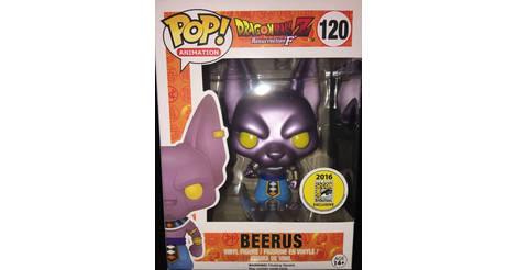 Dragonball Z Beerus Metalique Figurine Pop 120 Pop
