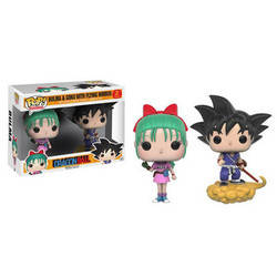 Dragonball Z - Bulma And Goku With Flying Nimbus 2 Pack