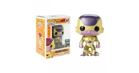 Dragonball Z Golden Frieza Pop Animation Action Figure 47
