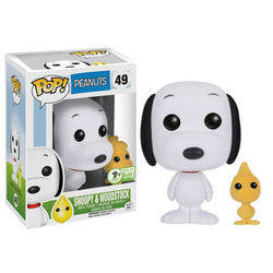 Peanuts - Snoopy and Woodstock Flocked