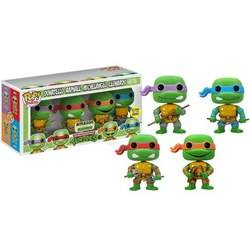 Teenage Mutant Ninja Turtles - Donatello, Raphael, Michelangelo And Leonardo Glow In The Dark 4 Pack