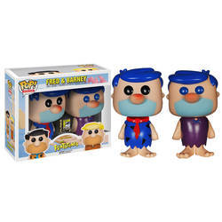 Hanna-Barbera - Fred And Barney Blue Hair 2 Pack
