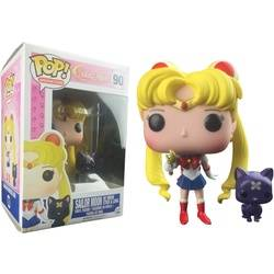 Sailor Moon - Sailor Moon with Moon Stick And Luna