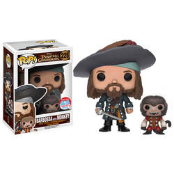 Pirates Of The Caribbean - Barbossa with Monkey