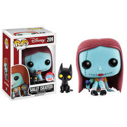 The Nightmare Before Christmas - Sally seated