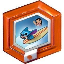 Figure de Surf de Stitch - Clear Orange (Toys R'us)