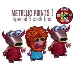 The Muppets - Mahna Mahna And Snowths Metallic 3 Pack