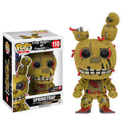 Five Nights At Freddy's - Springtrap Flocked