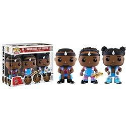 WWE - Big E, Xavier Woods And Kofi Kingston 3 Pack
