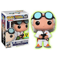 Back to the Future - Dr. Emmett Brown Glow In The Dark