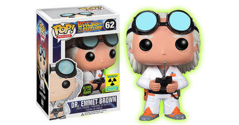 Back To The Future Dr Emmett Brown Glow In The Dark
