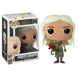 Game of Thrones - Daenerys Targaryen With Green Dragon
