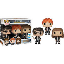 Harry Potter - Harry Potter, Ron Weasley and Hermione Granger 3 pack