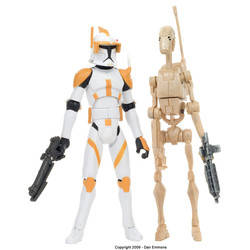 Clone Commander Cody vs. Battle Droid