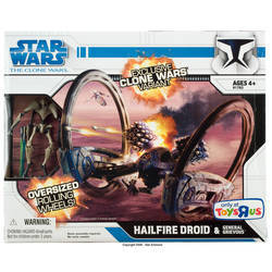 Hailfire Droid & General Grievous