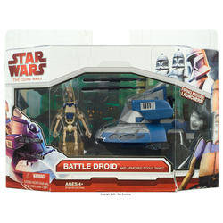Armored Scout Tank with Battle Droid