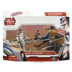 BARC Speeder with Clone Commander Cody