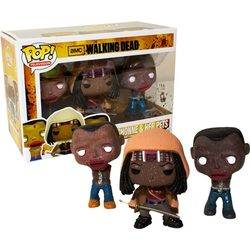 The Walking Dead - Michonne and Her pets 3 pack