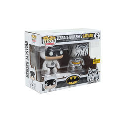 DC Super Heores - Zebra And Bulleyes Batman 2 Pack