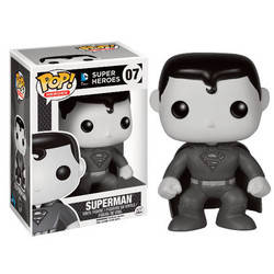 DC Super Heroes - Superman Black And White