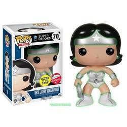 DC Super Heroes - White Lantern Wonder Woman Glow In The Dark