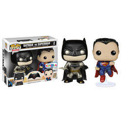 Batman VS Superman - Batman And Superman Metallic 2 Pack