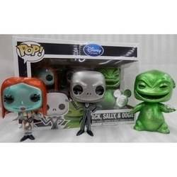 The Nightmare Before Christmas - Jack, Sally And Oogie Metallic
