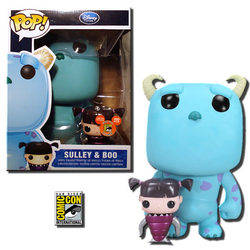 Monsters Inc - Boo Metallic And Sulley 9