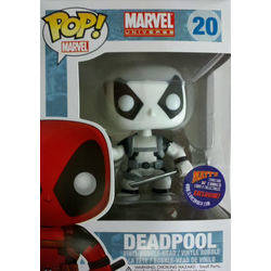 Marvel Universe - Deadpool Black And White Glow In The Dark